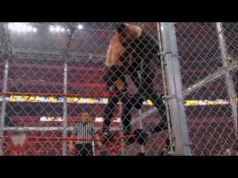 Kane Vs The Undertaker For The WHC (Highlights) - (Hell In A...