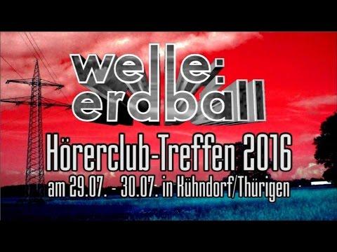 welle: erdball - Hörerclub-Treffen 2016 (Reklame)
