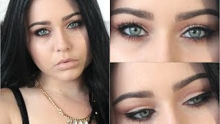 Eye Makeup for Blue Eyes Tutorial ♡ How to Make Blue Eyes Pop!