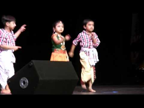 Seattle Sahyadri Kannada Sangha Kids Dance video