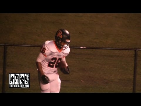Cathedral Prep General McLane High School Football 2014 Bryce Boyd Touchdown 3