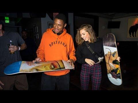 Guest Artist Dessie Jackson surprises Ishod Wair!