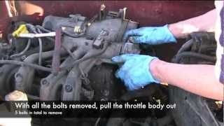 Throttle Body Removal Renault Clio D7F Engine