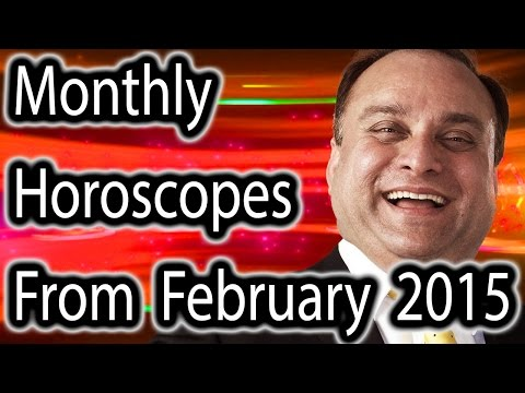 Monthly Horoscope For February 2015 In English | Prakash Astrologer