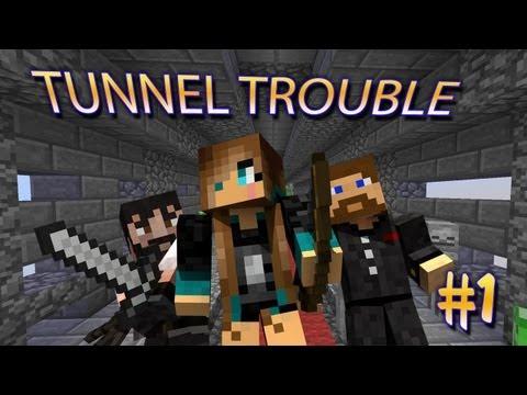 ТРИО на карте Minecraft: Tunnel Trouble #1 (Mini-Game)