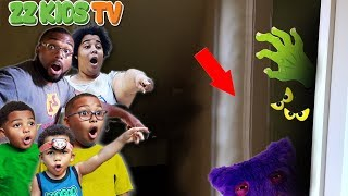 Cute Monster THE MOVIE! ZZ Kids Halloween Compilation Video
