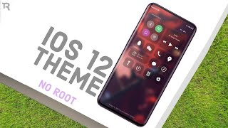 iOS 12 New Amazing Theme For Redmi Note 4/5/6/7 Pro