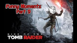 Rise of the Tomb Raider Funny Moments Part 9 | Hearing Senses