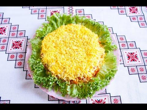 Как приготовить салат Мимоза - рецепт - видео