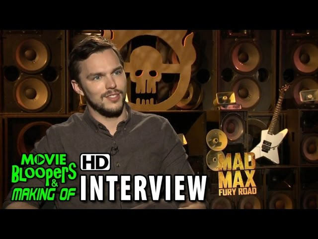 Mad Max: Fury Road (2015) Official Movie Interview - Nicholas Hoult (Nux)