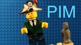 Lego Pim In Pirate Ship