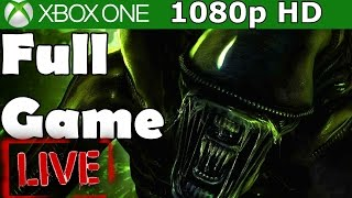 Alien Isolation Full Walkthrough Complete Game Gameplay Let's Play Review 1080p HD
