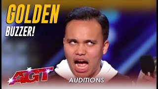 Kodi Lee: Blind Autistic Singer WOWS And Gets GOLDEN BUZZER! | America's Got Talent 2019