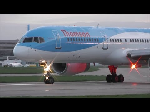 Sunrise Planespotting at Manchester Airport | 09/04/14