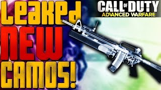 """NEW LEAKED CAMOS!"" | COD Advanced Warfare: ""X-RAY CAMO, DISCO, ACES, & JACKPOT!"""
