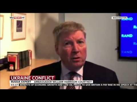 US Ambassador William Harrison Courtney Talks About The Ukraine Russian Conflict