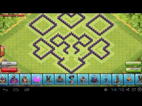 Clash Of Clans-TH8 Trophy Base/Defense base