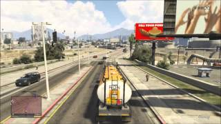 GTA V - How To Lose Police With A Truck