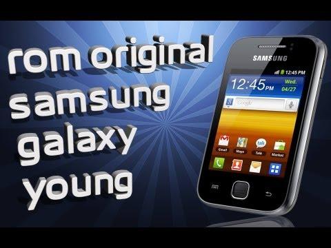 instalar rom original del samsung galaxy young
