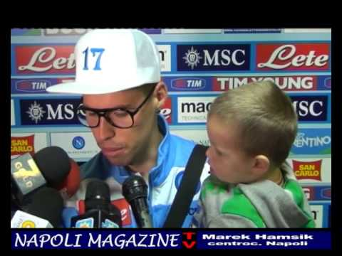 VIDEO, HAMSIK: SIPARIETTO CON CHRISTIAN, INTERVISTA A MAREK E A MAZZARRI