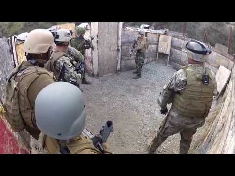 U.S. and Canadian Forces Utilize Shotgun In Close Quarters Combat Inside Kill House Image 1