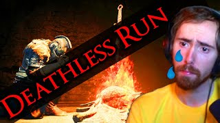 """""""You're CHEATING"""" Asmongold Attempts a Dark Souls Deathless Run - How Long Will He Last?"""