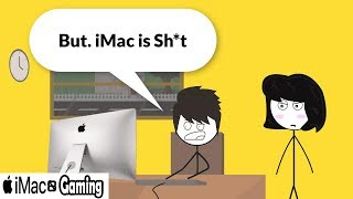 When a Gamer gets a iMac but he wanted a Gaming Pc