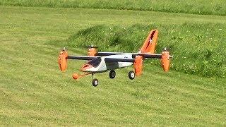 V-Hawk RC VTOL (GVAM Field 7/30/17)