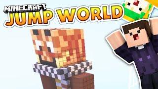 Wir klettern über Youtuber! | Minecraft - JumpWorld