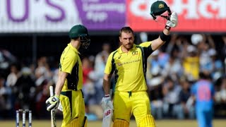 Aaron Finch's Century (124 runs) vs India | India vs Australia - 3rd ODI - tWitTeR HIGHLIGHT!!!