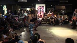 Battlecat-Waacking Semi Final II-Aug 15 2013-Chrissy & May Chou from Taiwan