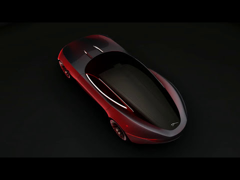 Jaguar Future XK Animation