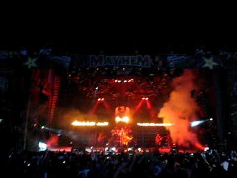 Slayer - Hell Awaits - Live OKC - Rockstar Mayhem Festival 2009