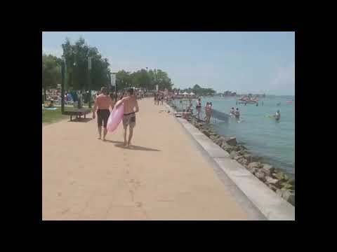 Lake Balaton,plazs Siofok 6.8.2019