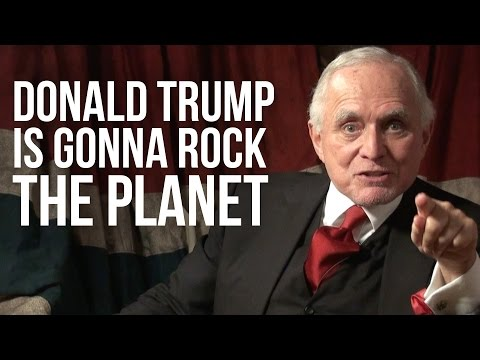 DONALD TRUMP IS GONNA ROCK THE PLANET - Dan Pena on London Real