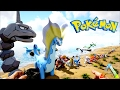 ALL POKEMON IN ARK FROM BIGGEST TO SMALLEST - POKEMON EVOLVED & ARKMON (Ark Modded Gameplay)