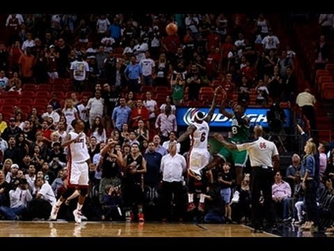 Jeff Green's CRAZY Game Winner With 0.6 Seconds Beats The Heat