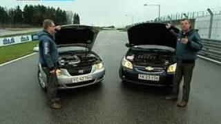 Hyundai Sonata vs. Chevrolet Epica