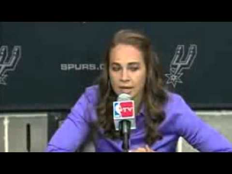 Spurs Name Becky Hammon as a New Assistant Coach   August 5, 2014   NBA