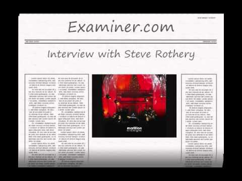 Interview with Marillion guitarist Steve Rothery