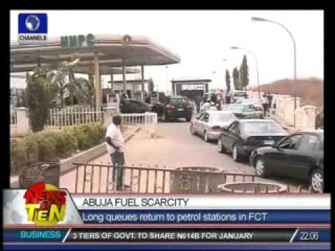 Abuja Fuel Scarcity:Long queues return to petrol stations in FCT