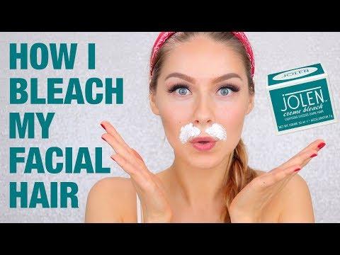 HOW TO BLEACH YOUR FACIAL HAIR