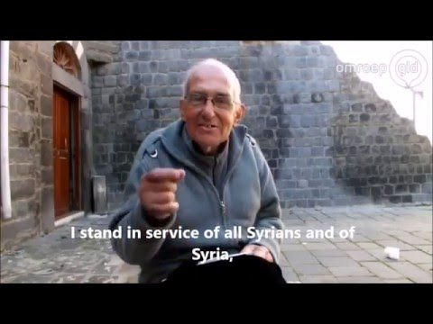In remembrance of father / pater Frans van der Lugt (Christian priest and martyr in Homs, Syria)