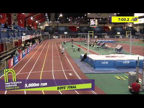 B 5000 H02 (Daniel Lennon 14:37, HS Indoor Nationals 2012)