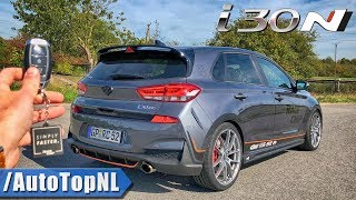 Hyundai i30N RaceChip 320HP REVIEW POV Test Drive on AUTOBAHN & ROAD by AutoTopNL