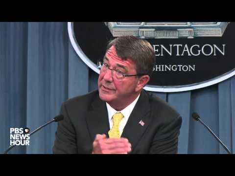 Defense Sec. Ash Carter on Guantanamo and female ranger school graduates