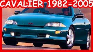 Chevrolet Cavalier History 1982-2005
