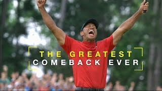 The Greatest Comeback In The History Of Sports - Tiger Woods Motivation Tribute 2019 Masters