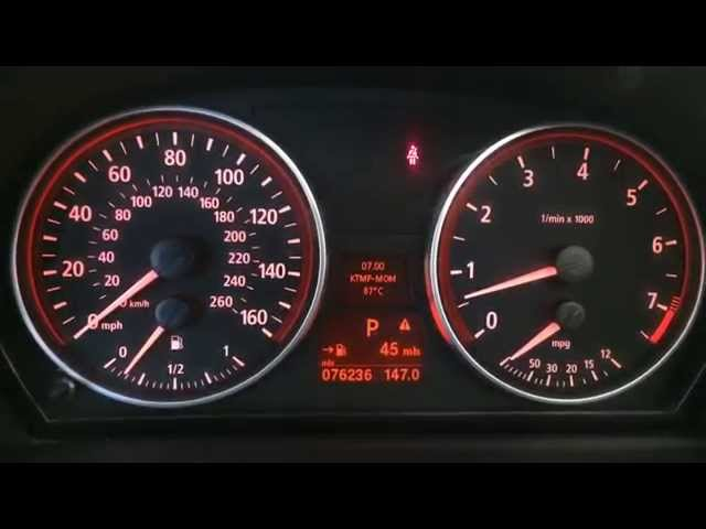 HOW TO Check Engine Temperature BMW 5 Series 3 ... - YouTube