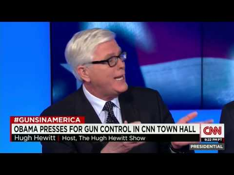 Hugh Hewitt vs. Jay Carney: You Say Dems Don't Want to Confiscate Guns But You Keep Citing Australia